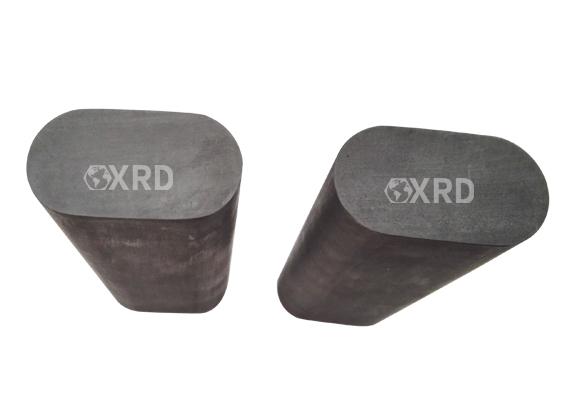 Graphite mold - elliptical rod
