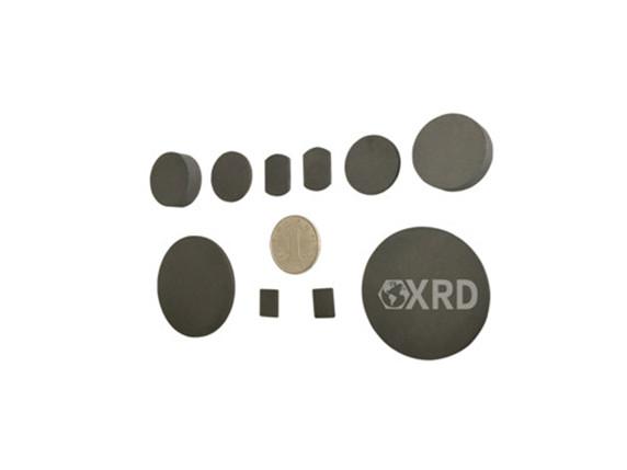 XRD Graphite Discs